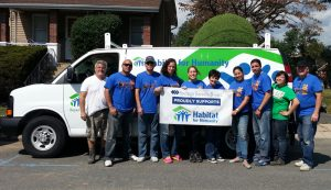 Spencer Savings Bank joins Habitat for Humanity of Bergen County for build day