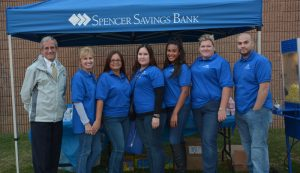 More Than 200 Join Spencer Savings Bank and the Elmwood Park Recreation Department for Movies Under the Stars