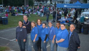 Spencer Savings Bank holds successful first Movies Under the Stars event in Garwood