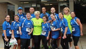 Spencer Savings Bank sponsors participates in the 3rd Annual Elmwood Park Chamber of Commerce 5k run