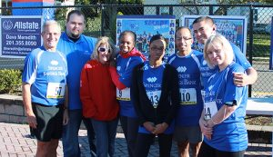 Spencer Savings Bank sponsors participates in the Fifth Annual Wood-Ridge Mayors 5k run