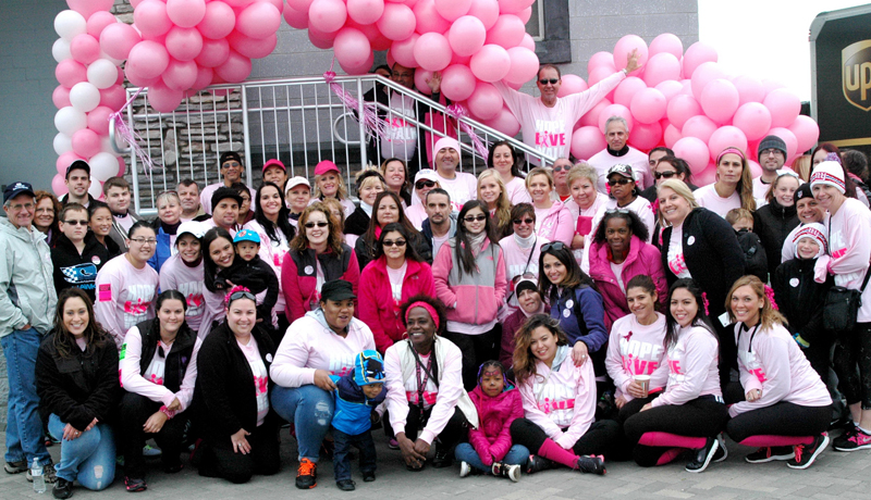 Spencer Savings Bank raises over 6600 during Making Strides Against Breast Cancer walk