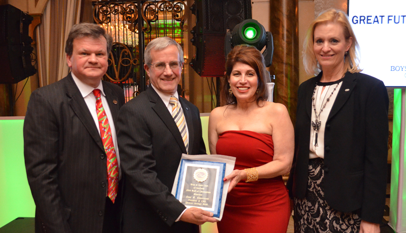 Spencer Savings Bank CEO Inducted to Garfield Boys and Girls Club Wall of Champions