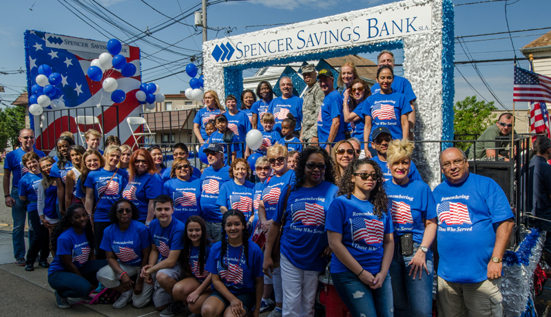 Spencer Savings Bank Celebrates Memorial Day with Garfield Community