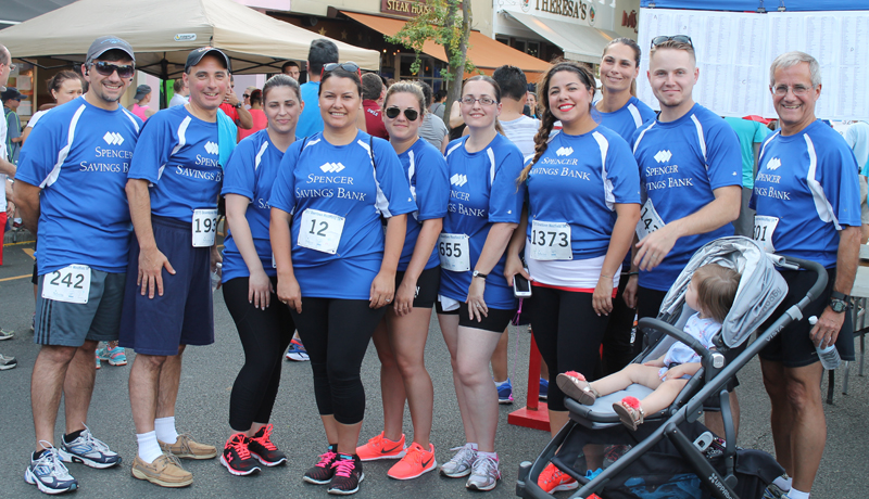 Spencer Savings Bank Sponsors & Participates in Westfield 5K Run