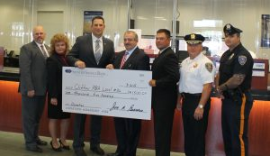 Spencer Savings Bank Presents Donation to Clifton PBA