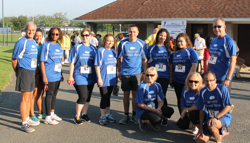 Spencer Savings Bank Sponsors & Participates in The Garfield Boilermaker 5K Race