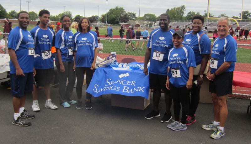 Spencer Savings Bank Sponsors & Participates in Union 5K Run