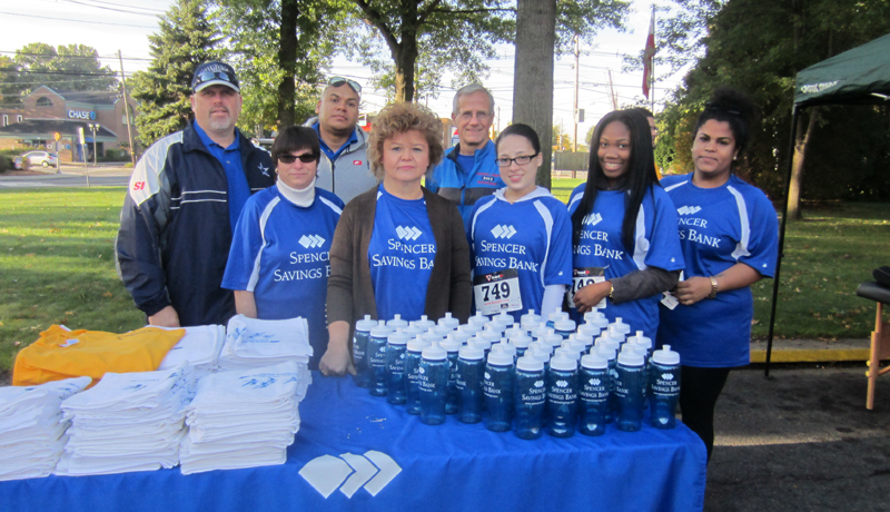 Spencer Savings Bank Sponsors & Participates in the 8th Annual John Samra Scholarship Memorial 5K Run/Walk