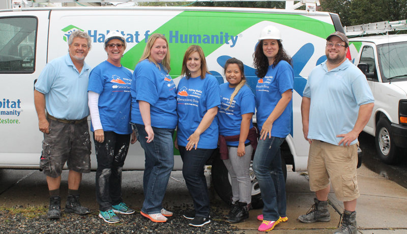 Spencer Savings Bank Joins Habitat for Humanity of Bergen County for 2nd Year