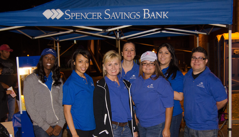 Spencer Savings Bank's Movies Under The Stars In Elmwood Park Draws Over 200 Attendees