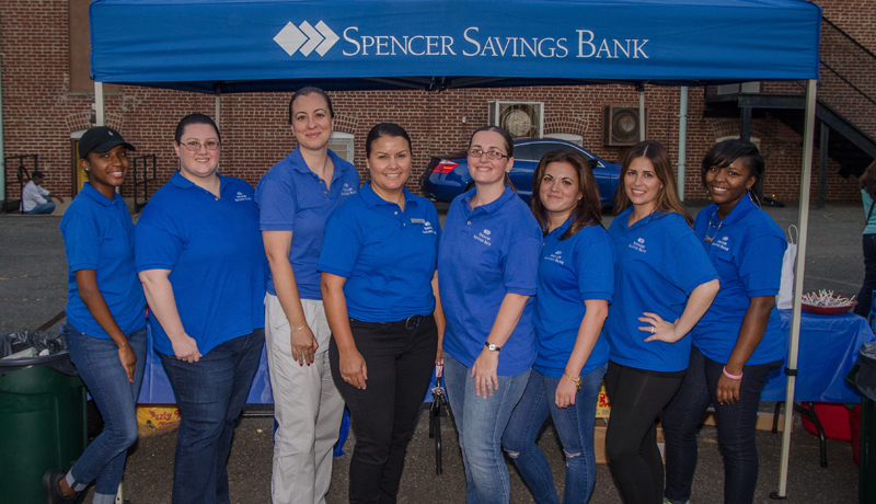 Spencer Savings Bank's Movies Under The Stars In Garwood Draws Over 300 Attendees