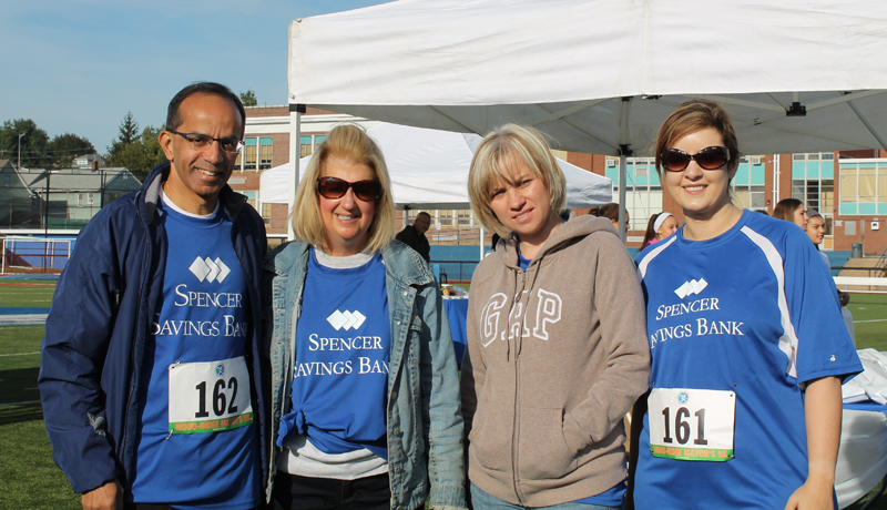 Spencer Savings Bank Sponsors & Participates in the Sixth Annual Wood-Ridge Mayor's 5K Run