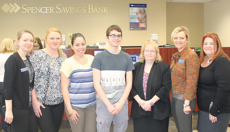 Spencer Savings Bank Garfield Branch Hosts Garfield YMCA Career Exploration Event
