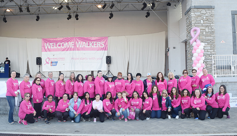 making strides against breast cancer walk