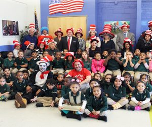 Dr. Suess Day Group Picture