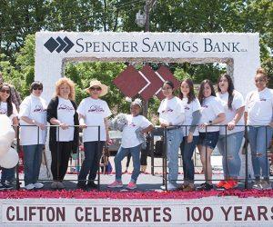 Spencer Savings Bank Celebrates 100 Years of Clifton at Centennial Parade