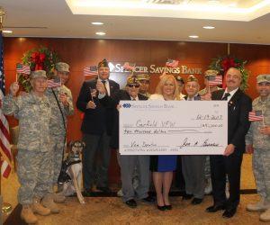 Spencer Donation to Veterans
