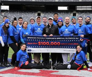 Spencer Supports Special Olympics NJ