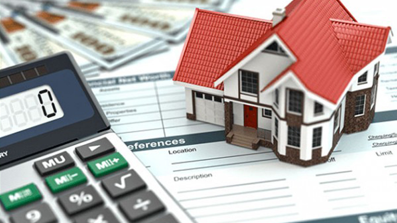 Home Equity Loan House and Calculator