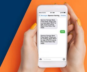 Fraud Alert Text Message