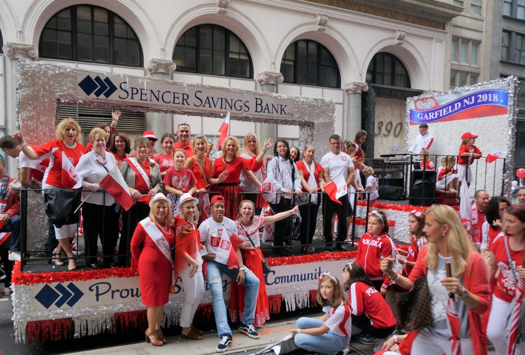 Pulaski Day Parade Spencer Savings Bank