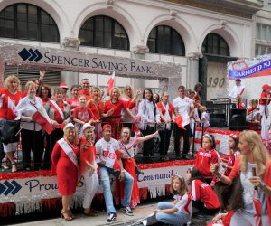 Pulaski Day Parade Spencer Savings Bank