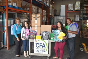 Center for Food Action Donation