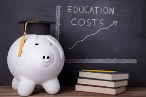 education cost piggy