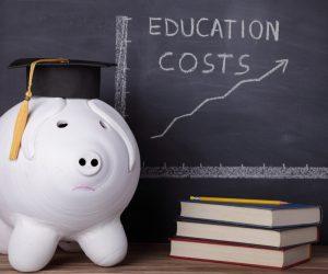education cost piggy