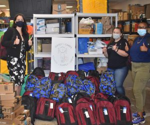 Jersey Cares Back to School Drive