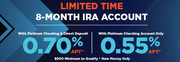 8-Month IRA Promotion