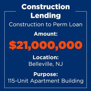 Recent Financings Construction Lending