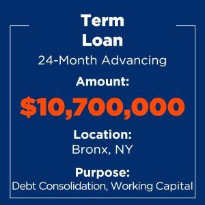 Recent Financings Term Loan